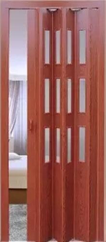 """Дверь-гармошка """"остекленная"""""""